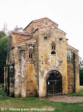 Arquitectura Prerrománica: San Miguel de Lillo