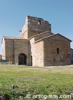 Iglesia de Santa María de Melque. Estilo visigodo - mozárabe