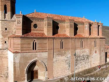 Iglesia mudéjar de Montalbán. Provincia de Teruel
