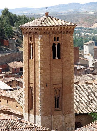 Torre mudéjar de Santo Domingo de Daroca
