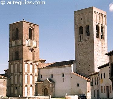 Iglesia de San Martín. Magnífico ejemplo del mudéjar de Arévalo