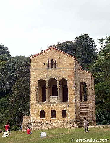 Santa María del Naranco. Joya de la arquitectura asturiana