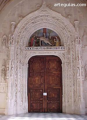 Monasterio de El Paular. Puerta occidental de la iglesia