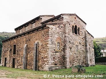 Fachada de San Pedro de Nora