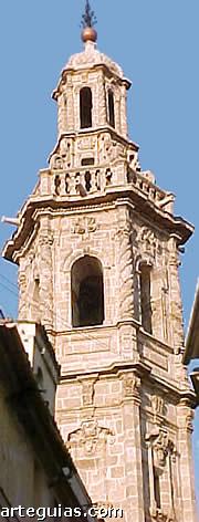 Barroco valenciano: torre de Santa Catalina
