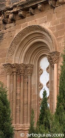 Ventala del transepto