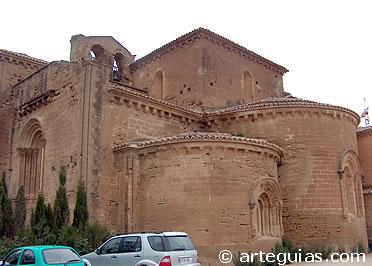 Iglesia del  Monasterio de Santa María de Villanueva de Sigena