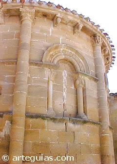 Iglesia de Tirgo. De lo mejor del románico de Río Tirón en La Rioja