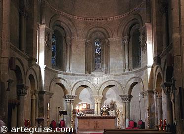Interior de la Santísima Trinidad. Segovia