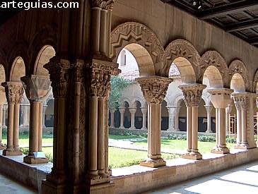 Bello claustro de la Catedral de Tudela