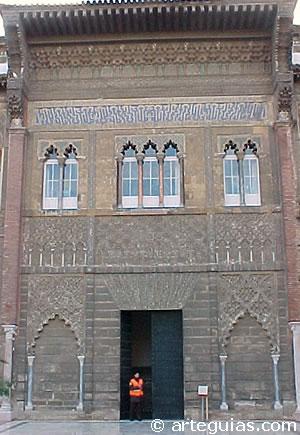 Fachada mudéjar del Alcázar de Sevilla