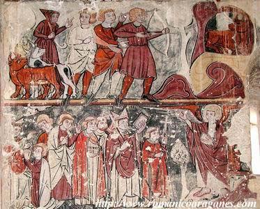 Pintura Gótica Lineal. Barluenga (Huesca)