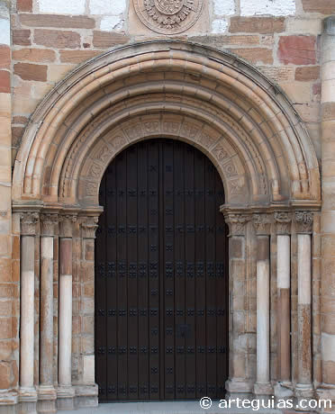 Puerta occidental de San Juan de Benavente