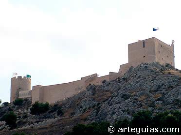 Castillo de Castalla. Alicante