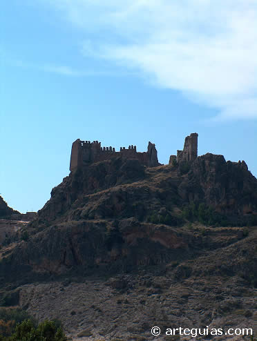 Castillo de Jarque. Zaragoza