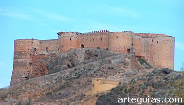 Castillo de Mesones de Isuela, de los mejor conservados de Zaragoza