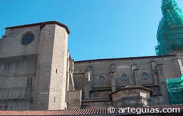 Exterior de la Catedral de Vitoria