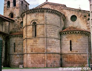 Monasterio de Cornellana. Camino de Santiago en Asturias