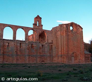 Monasterio cisterciense de Moreruela. Bernardo de Claraval predicó la segunda Cruzada