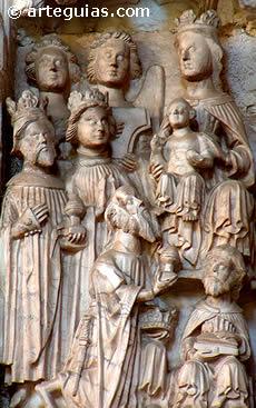 Adoración de los Reyes Magos. Catedral de Toledo
