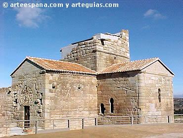 Arquitectura visigótica: Iglesia de Santa María de Melque