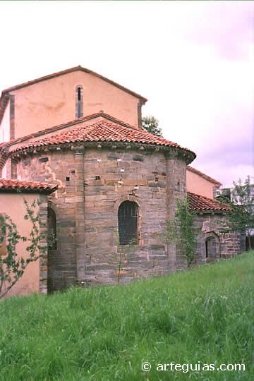 Monasterio de Obona. Punto de Referencia del Camino de Santiago asturiano