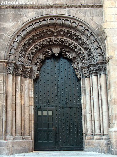 Catedral de Orense. Portada sur