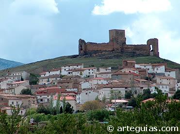 Historia de Reino de Aragón. En la imagenn: castillo de Trasmoz