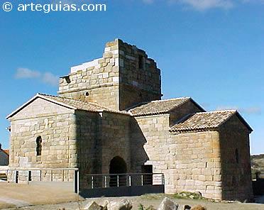 Uno de los más brillantes reinos bárbaros fue el visigodo de Hispania. en la imagen, iglesia visigoda de Melque