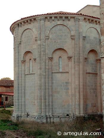 Ábside central de la iglesia del monasterio