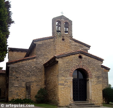 Arquitectura prerromana prerramirense: San Julián de los Prados
