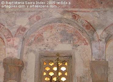 Pinturas murales en san Julián de los Prados