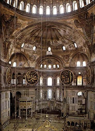 Santa Sofía. Estambul - Bizancio