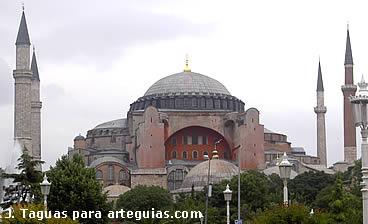 Santa Sofía. Joya del arte bizantino