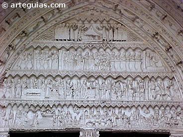 Portada gótica de la Catedral de Toledo
