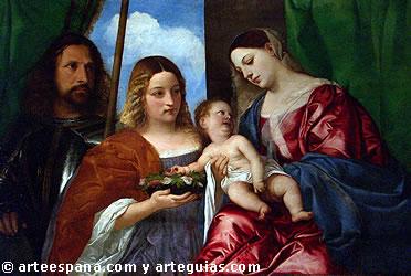 Tiziano influyó en el Greco en el tratamiento del color y la luz
