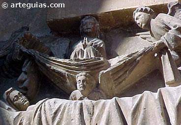 Escultura gótica en la Catedral de Burgo de Osma. Soria