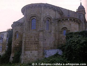 Iglesia del Monasterio de San Martiño de Couto (Xubia)