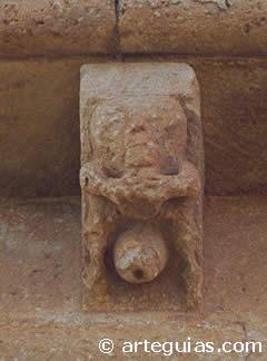 Canecillo de Barahona del Fresno (Segovia)