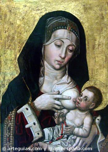Virgen de la Leche, de Bartolomé Bermejo