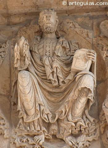 Maiestas Domini de la iglesia de Santiago de Carrión de los Condes