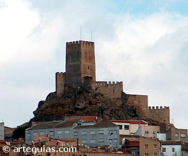 Hermosa vista del Castillo de Bañeres. Alicante (Banyeres de Mariola)