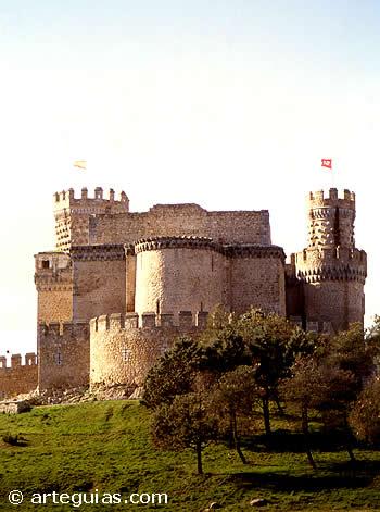 Castillos en la Comunidad de Madrid Castillomanzanareselreal