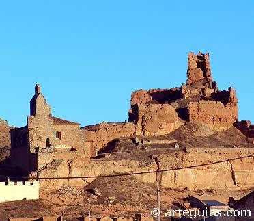 Ruinas del castillo de Monreal de Ariza