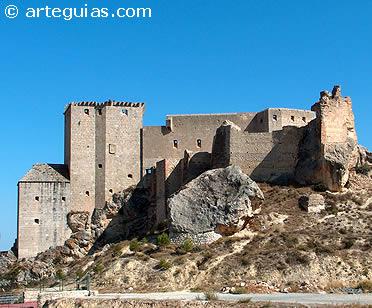 Castillo de los Vélez de Mula. Murcia
