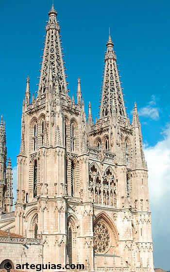 Caracter ascensional de la arquitectura gótica (Catedral de Burgos)