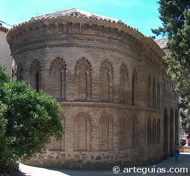 Ábside mudéjar del Cristo de la Luz. Toledo
