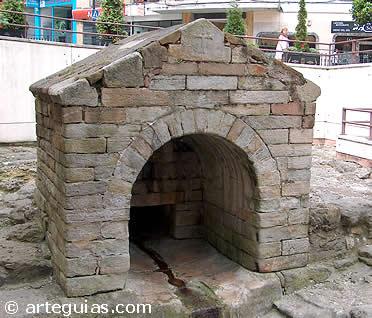 Fuente de la Foncalada en Oviedo