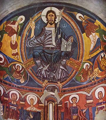 Frescos de Sant Climent de Taüll. MNAC