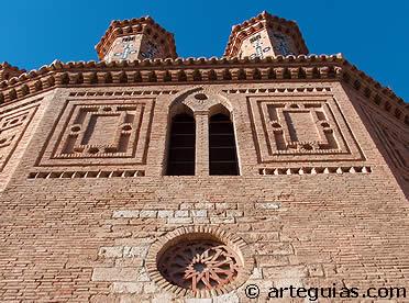 La iglesia de Montalbán es una de las grandes joyas del mudéjar turolense